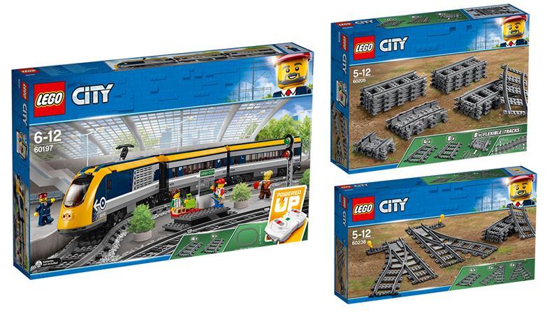 Lego City Pociąg 3w1 Superpack 601976020560238 Tanie Lego