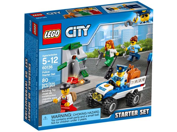 Lego City Policja Zestaw Startowy 60136 Tanie Lego