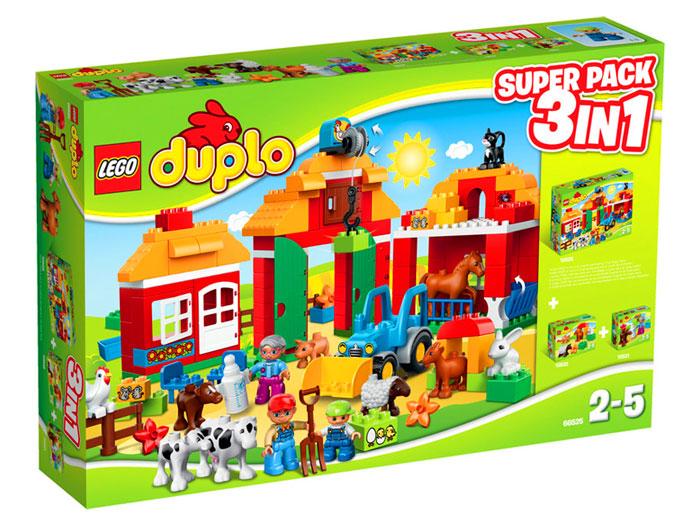 Lego Duplo Farm Super Pack 3 W 1 Wersja Limitowana 66525 Tanie