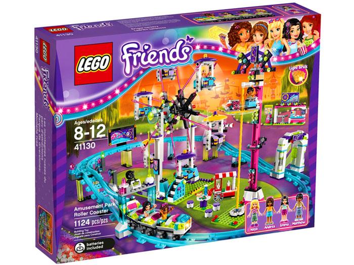 Lego Friends Kolejka Górska W Parku Rozrywki 41130 Tanie Klocki Lego