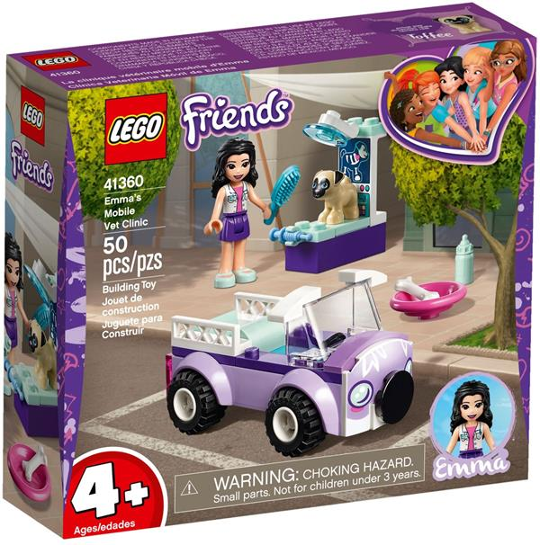 Lego Friends Mobilna Klinika Weterynaryjna Emmy 41360 Tanie Lego