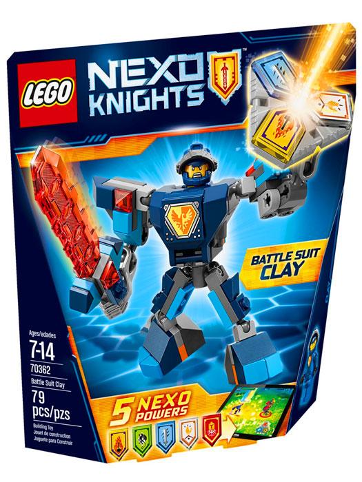 Lego Nexo Knights Zbroja Claya 70362 Tanie Lego