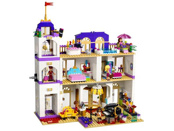 Lego Friends Grand Hotel W Heartlake 41101 Tanie Klocki Lego