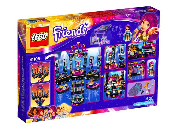 Lego Friends Scena Gwiazdy Pop 41105 Tanie Klocki Lego