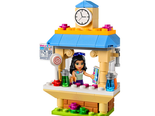 Lego Friends Turystyczny Kiosk Emmy 41098 Tanie Klocki Lego