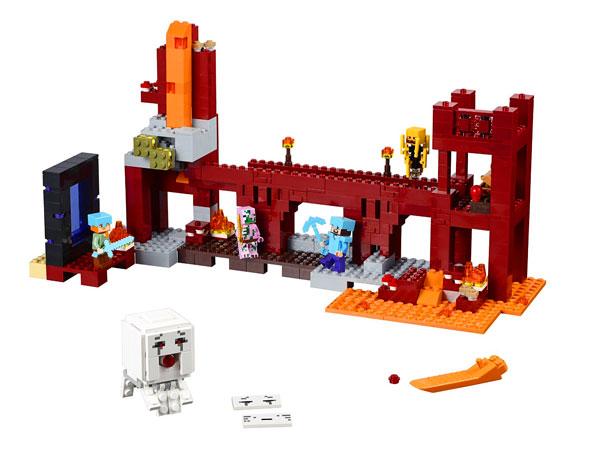 Lego Minecraft Forteca Netheru 21122 Tanie Klocki Lego