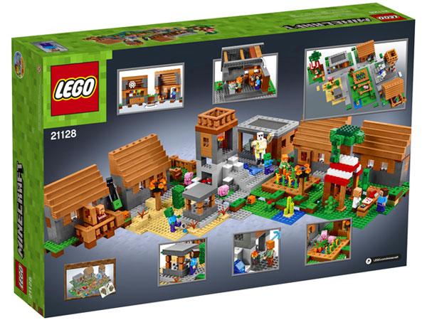 Lego Minecraft Wioska 21128 Tanie Klocki Lego