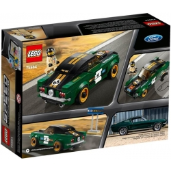 Lego Speed Champions Ford Mustang Fastback z 1968 r. 75884