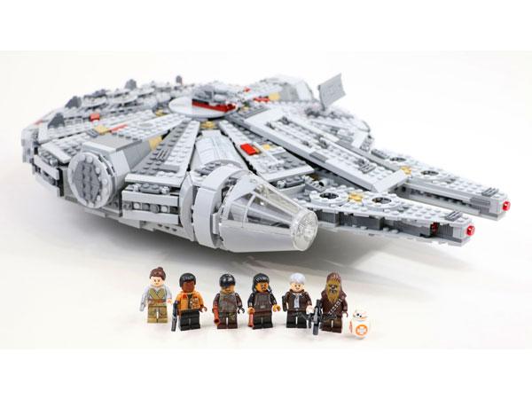 Lego Star Wars Sokół Millenium 75105 Tanie Klocki Lego