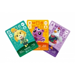 Karty Amiibo do gry Animal Crossing: Happy Home Designer (3DS)